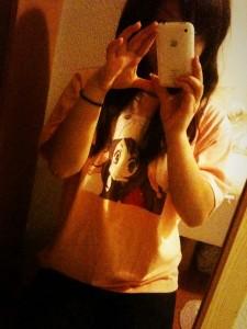 Tシャツきてみた!