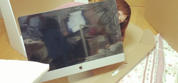 iMacとわたし